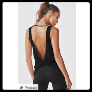 Fabletics twist back tank